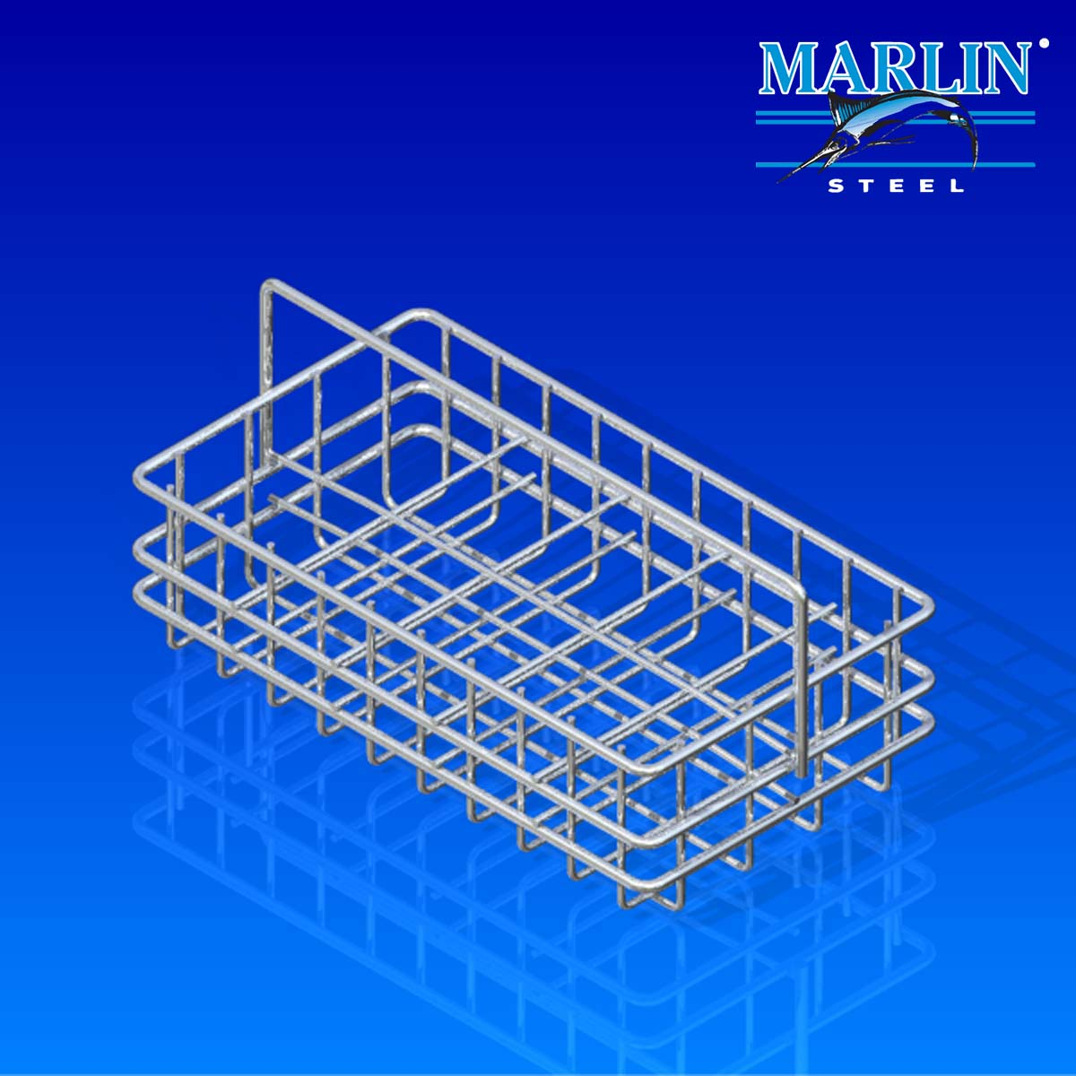 Wire Basket with Dividers 918001
