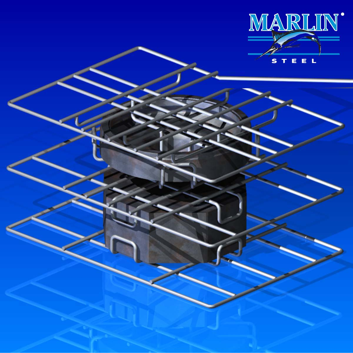 Marlin Steel Wire Basket 961002