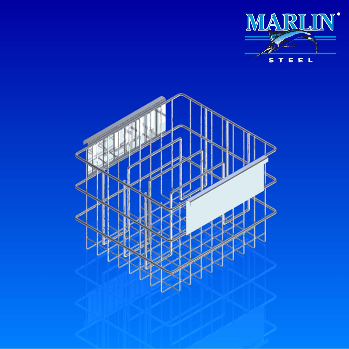 Marlin Steel Wire Basket 962003