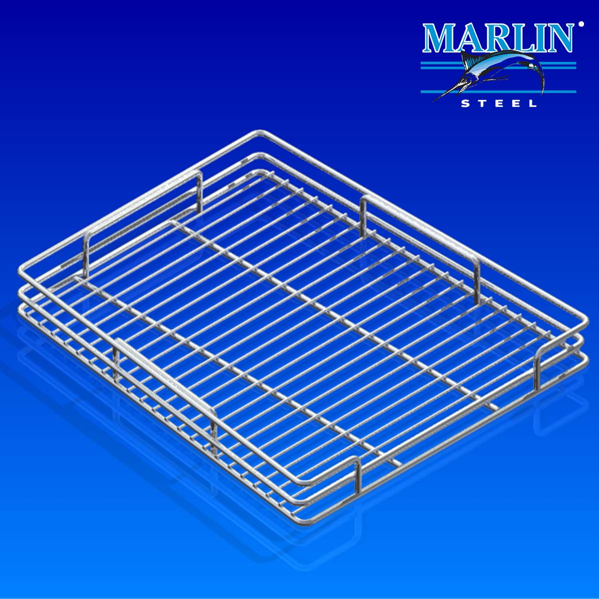 Marlin Steel Wire Basket 974002