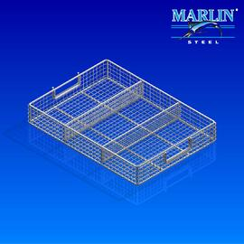 Wire Basket with Dividers 974003