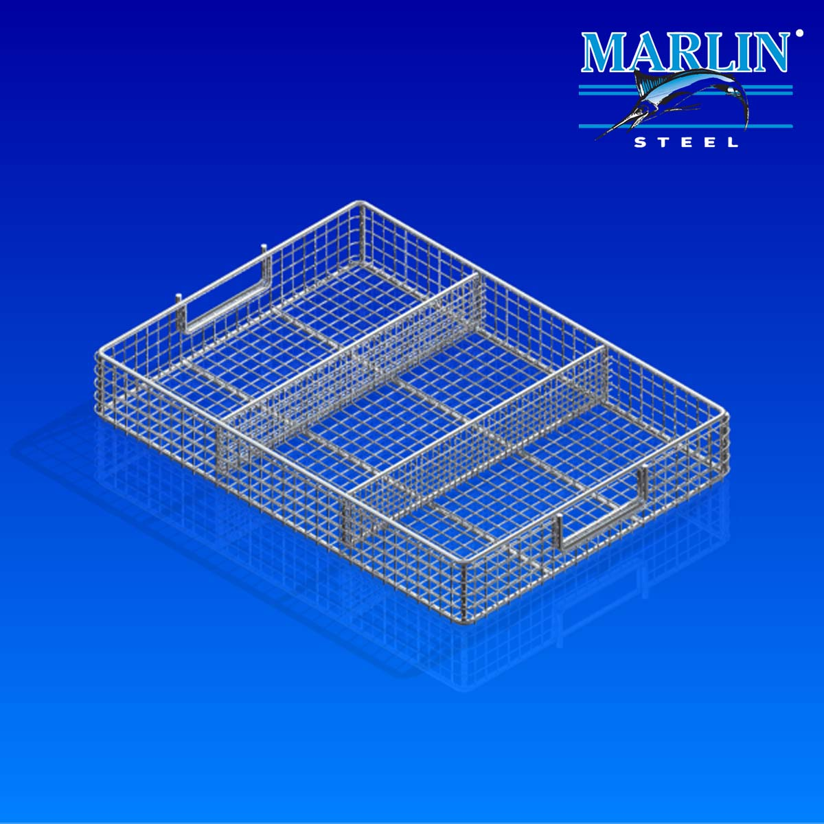 The client found this basket design to be very close to what they needed, so it served as the basis for the custom basket design.