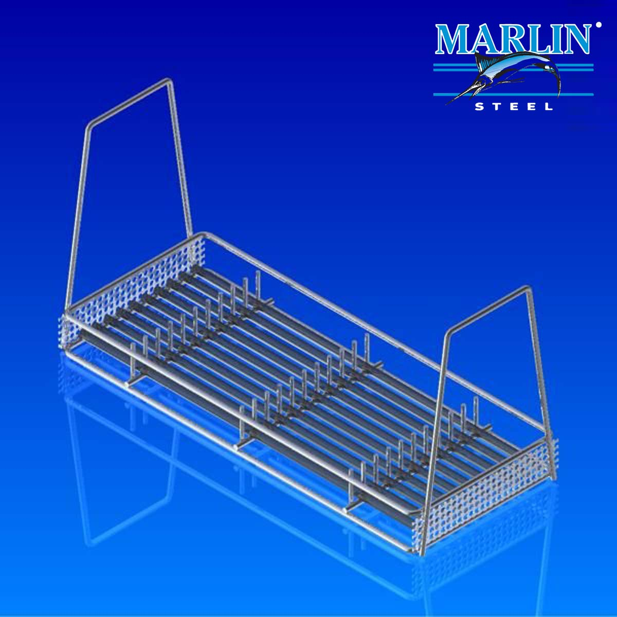 Wire Basket with Dividers 1154001