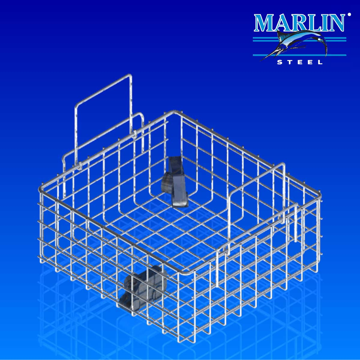 Wire Basket With Handles 72001