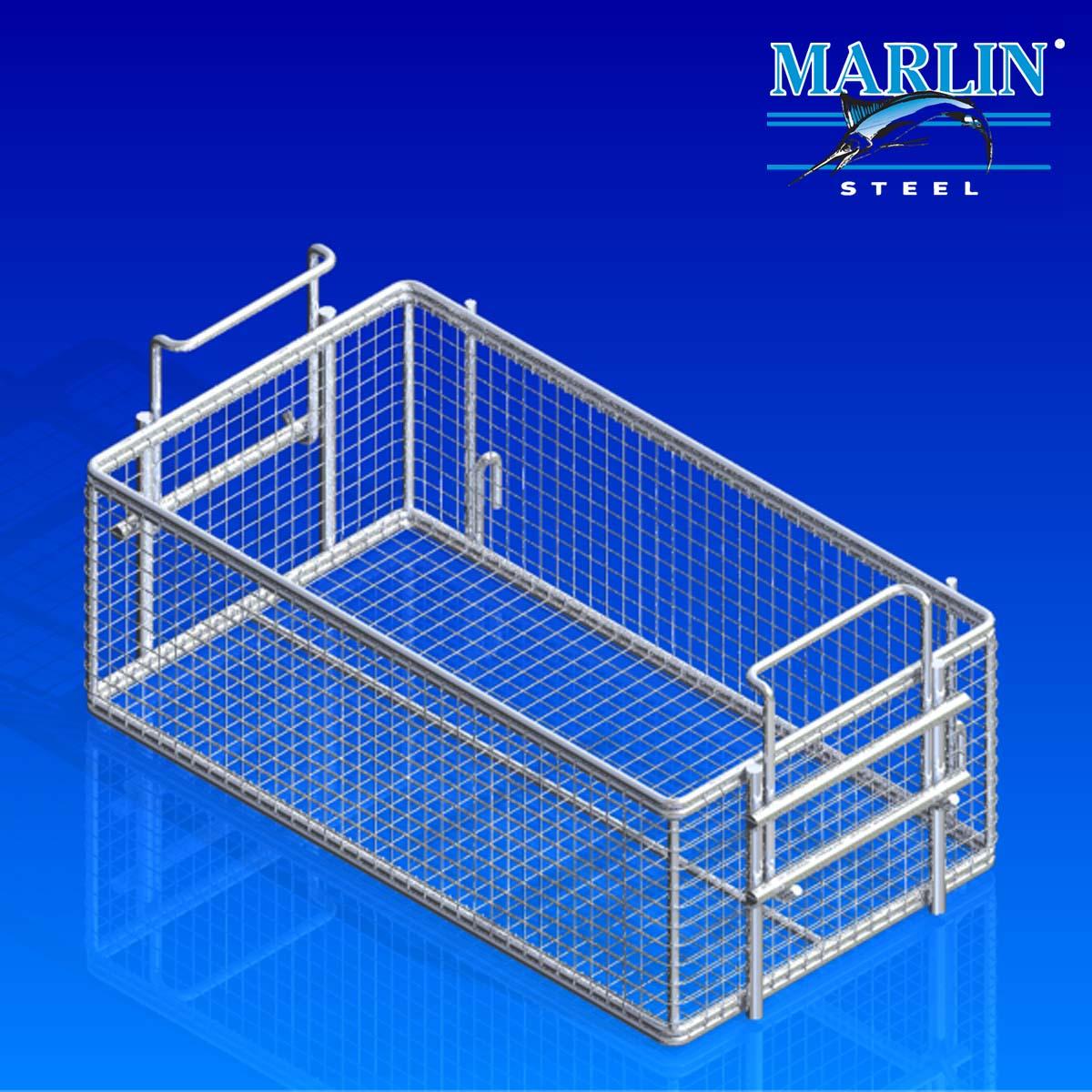 Marlin Steel Basket with Handles 280001