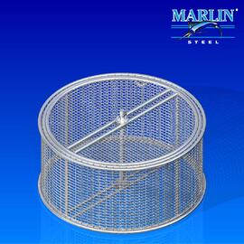 Wire Basket with Dividers 672002