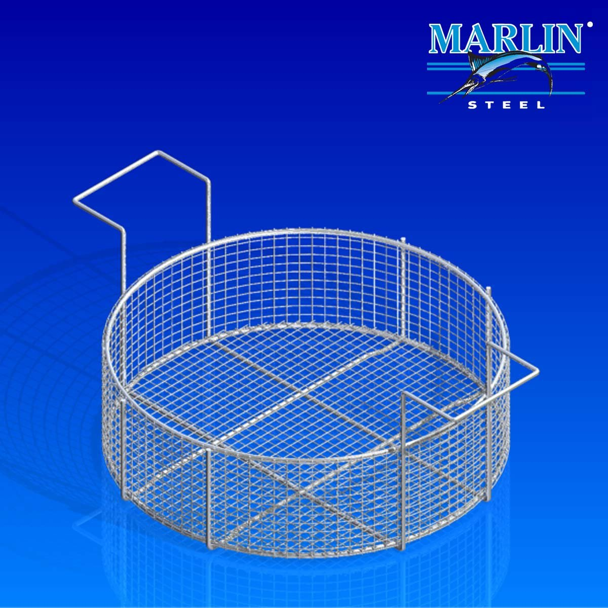Marlin Steel Basket with Handles 722001