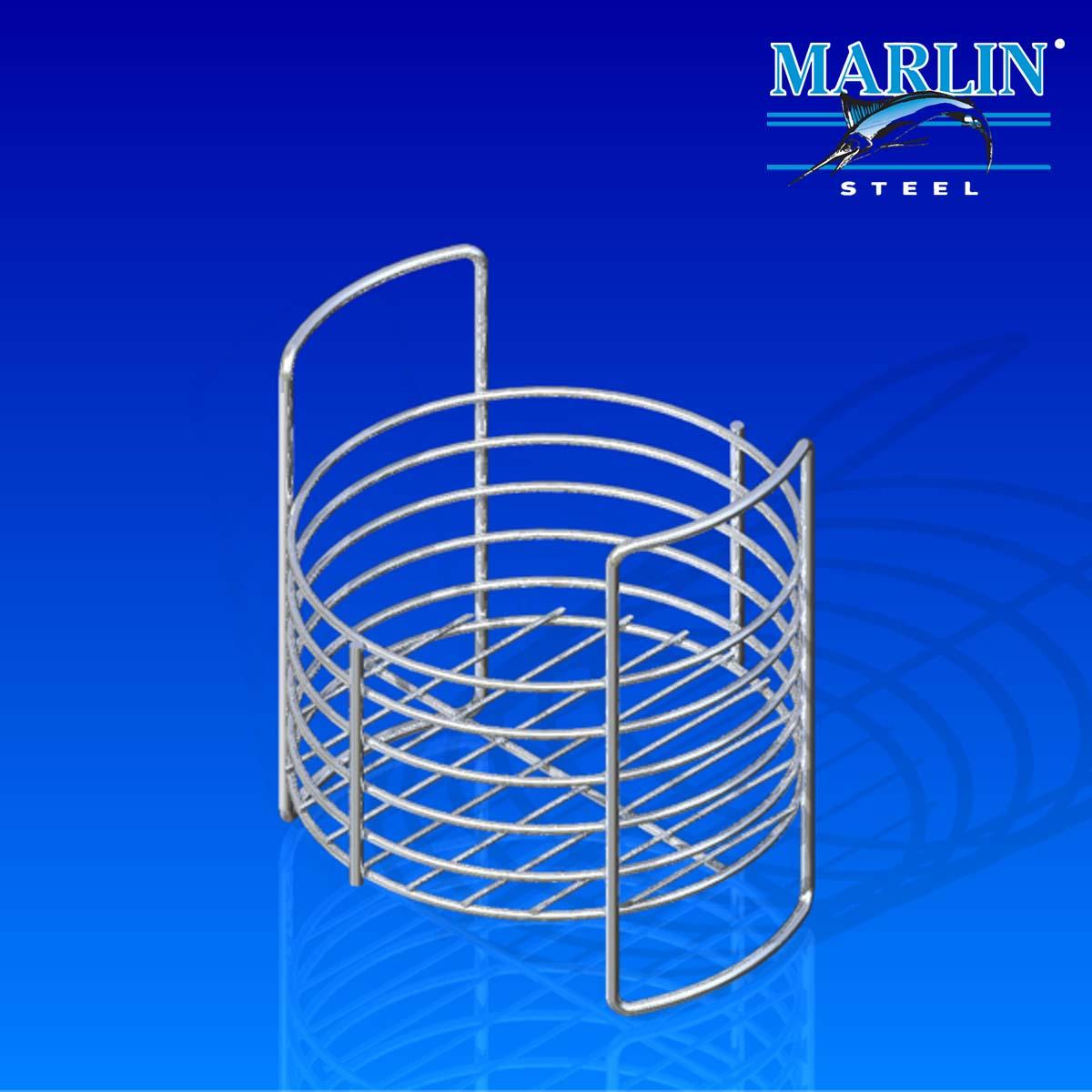 Marlin Steel Round Basket 799001