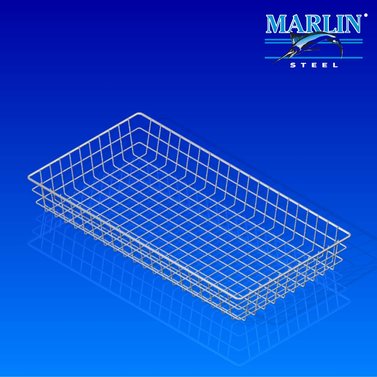 Marlin Steel Wire Basket 875001