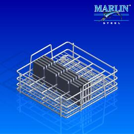 Wire Basket with Dividers 876001