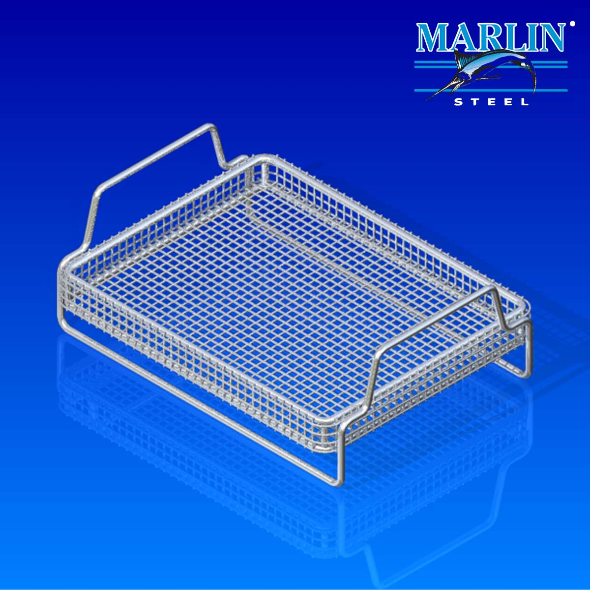 Marlin Steel Basket with Handles 907001