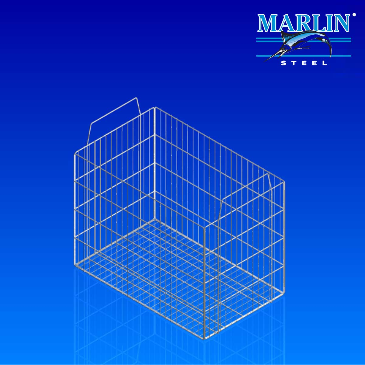 Marlin Steel Basket with Handles 924001