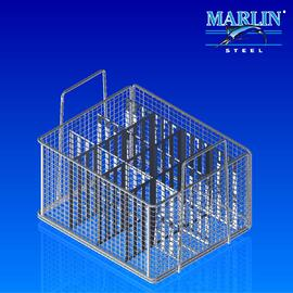 Wire Basket with Dividers 1073002