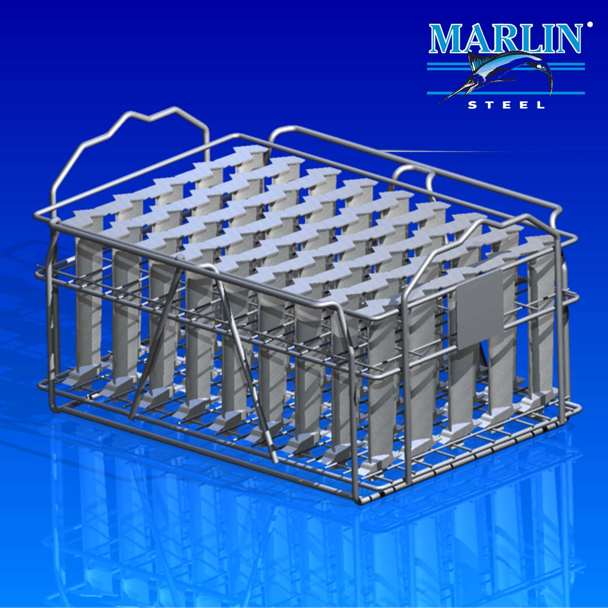 Wire Basket With Handles 1354001