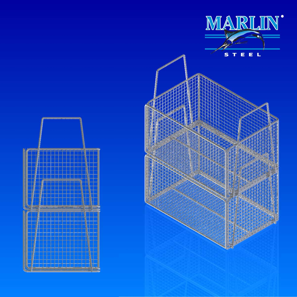 Wire Basket Stacking
