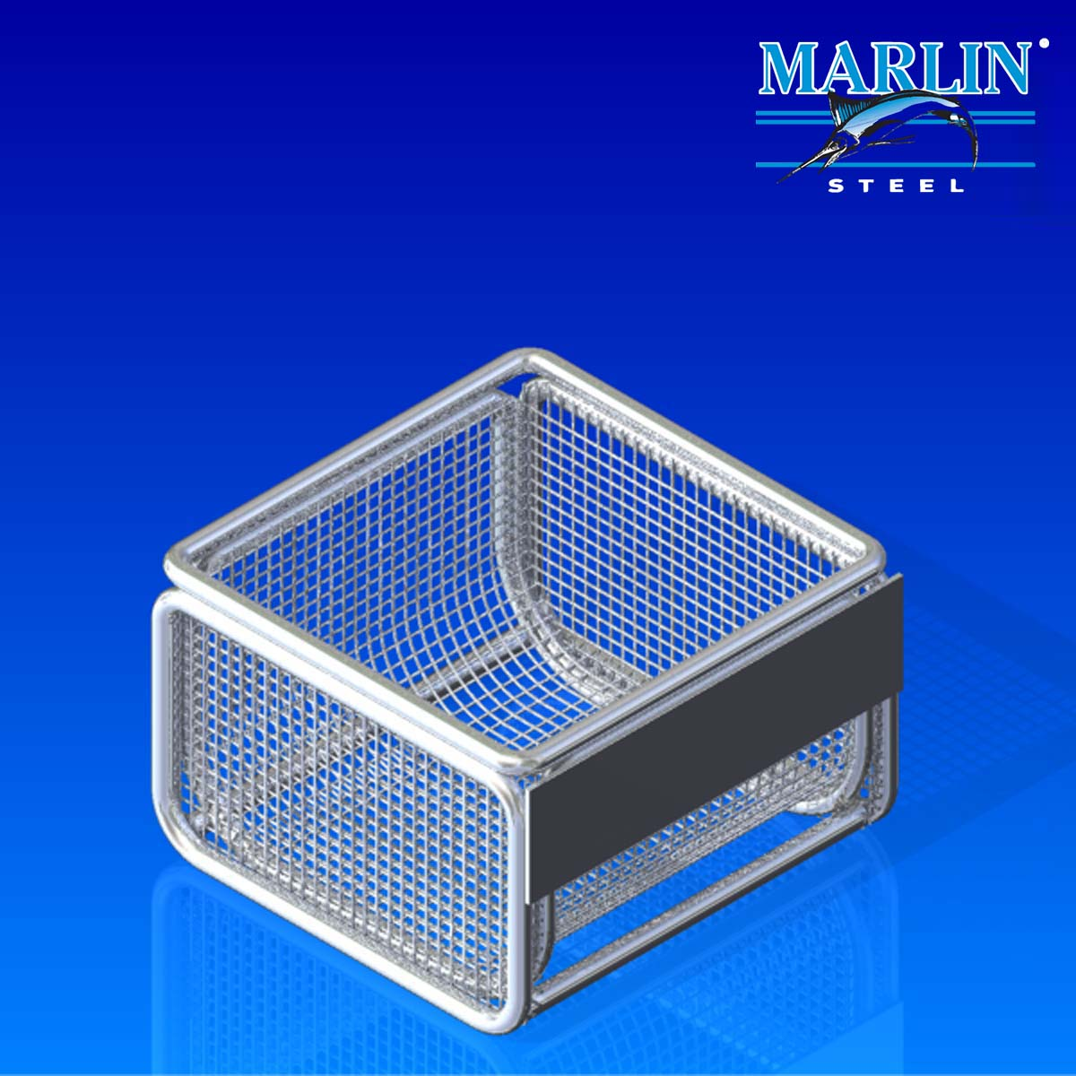 Wire Basket with Lid 599001