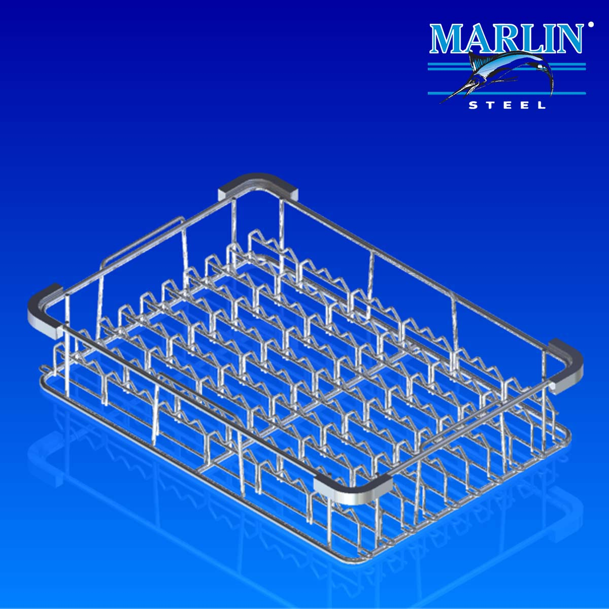 Marlin Steel Wire Basket 93001