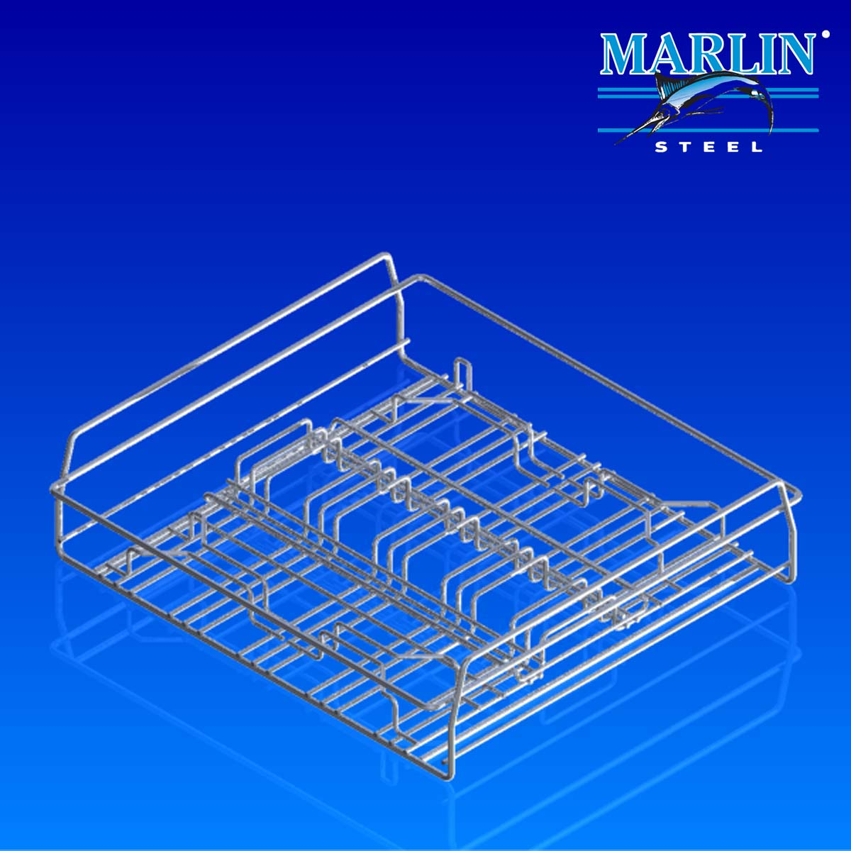 Wire Basket with Handles 147005