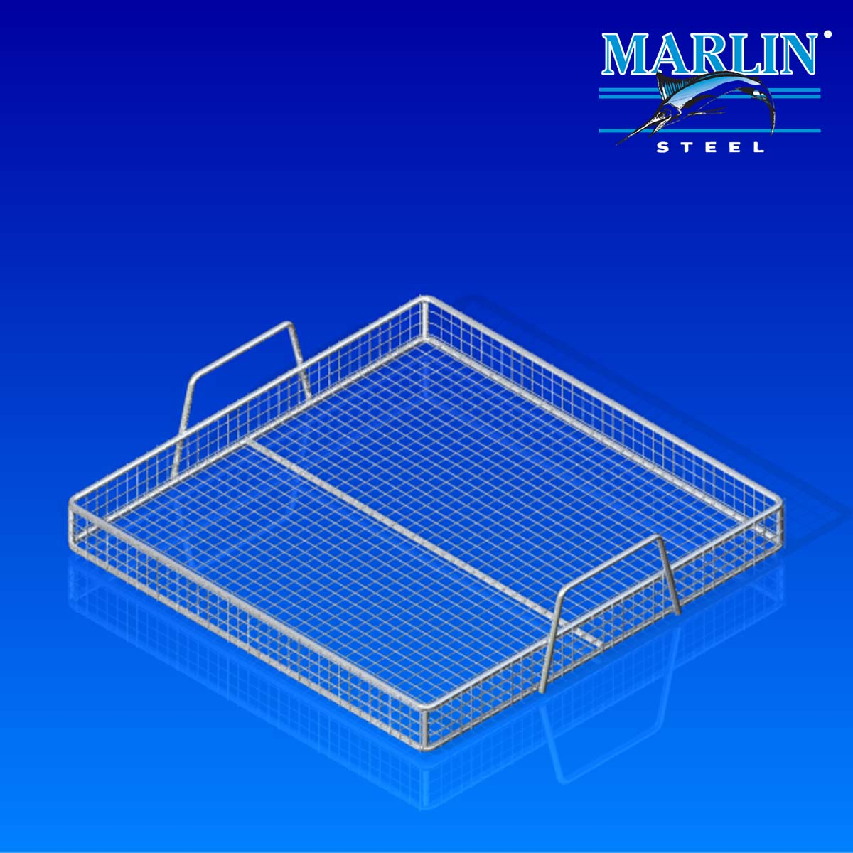 Wire Basket with Handles 154001