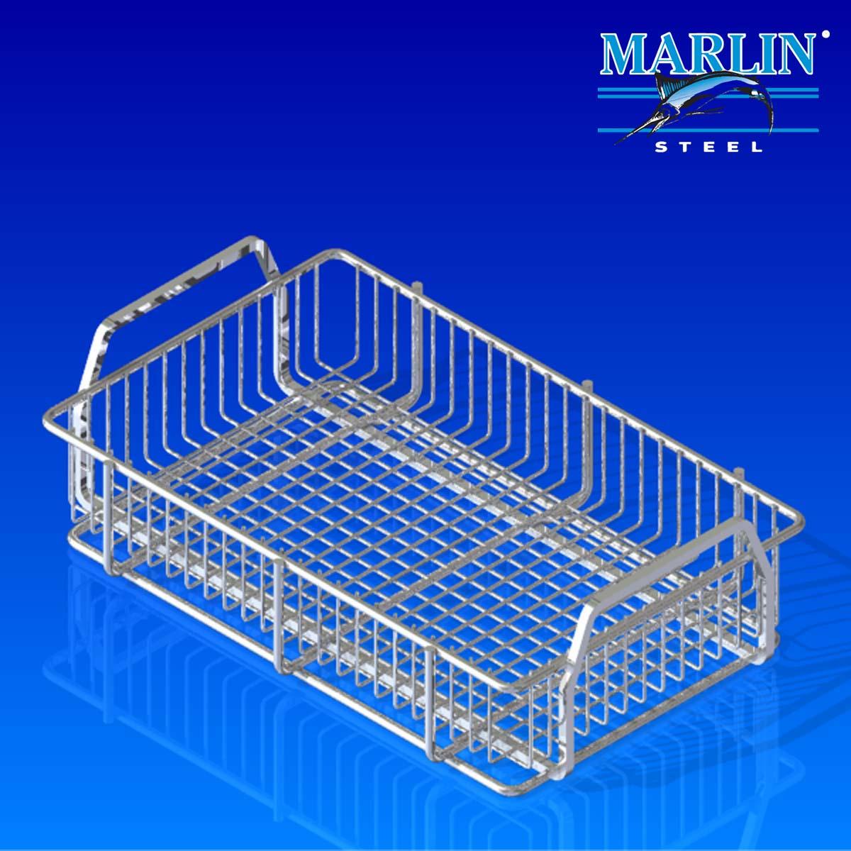 Marlin Steel Basket with Handles 286001