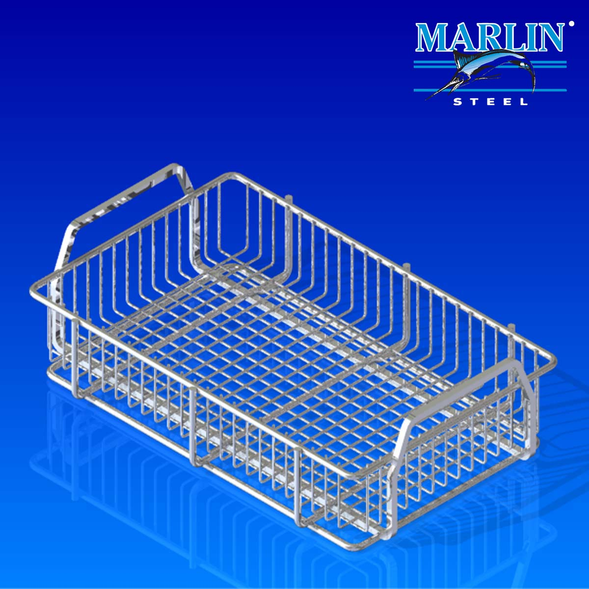 Wire Basket With Handles 286001