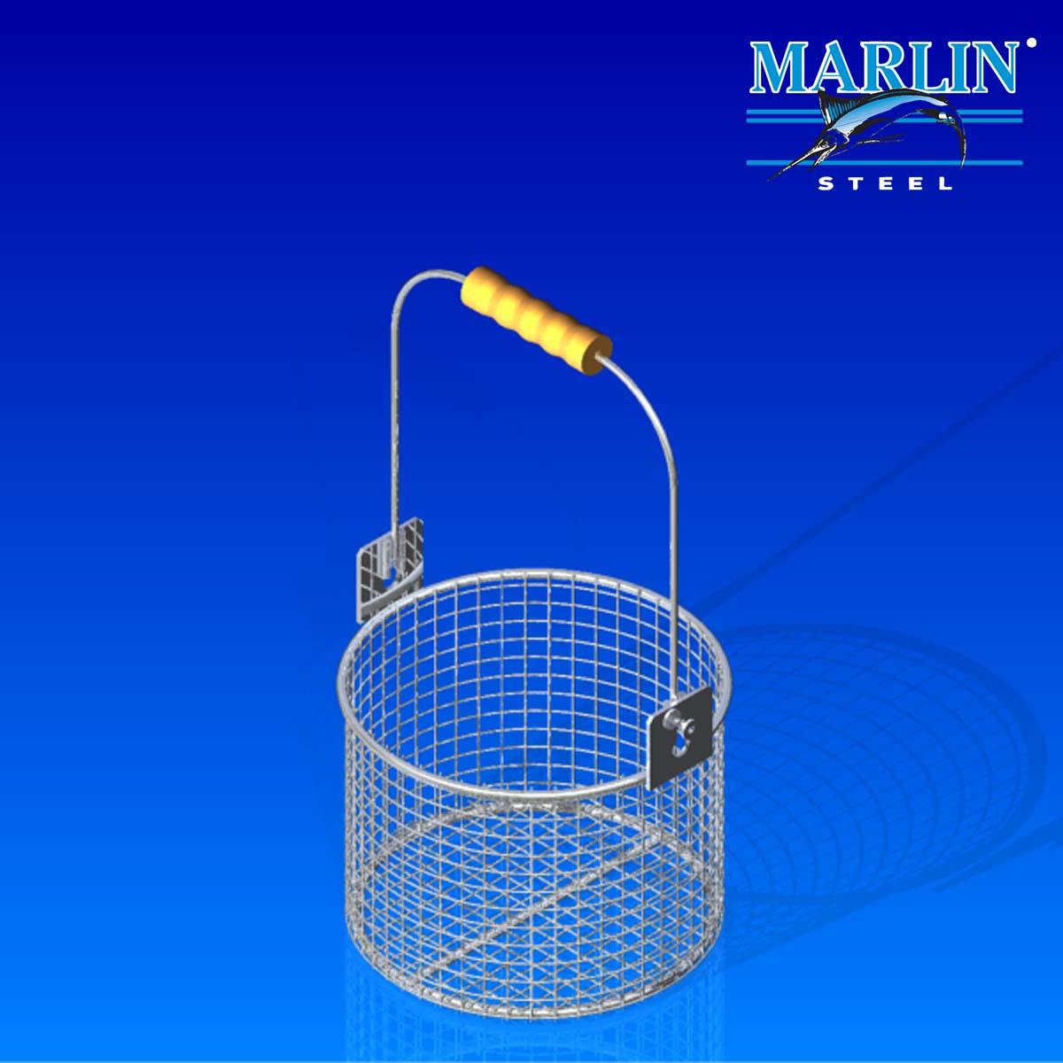 Marlin Steel Round Basket 785001