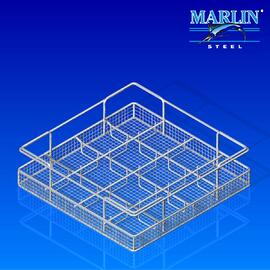 Wire Basket with Dividers 133001