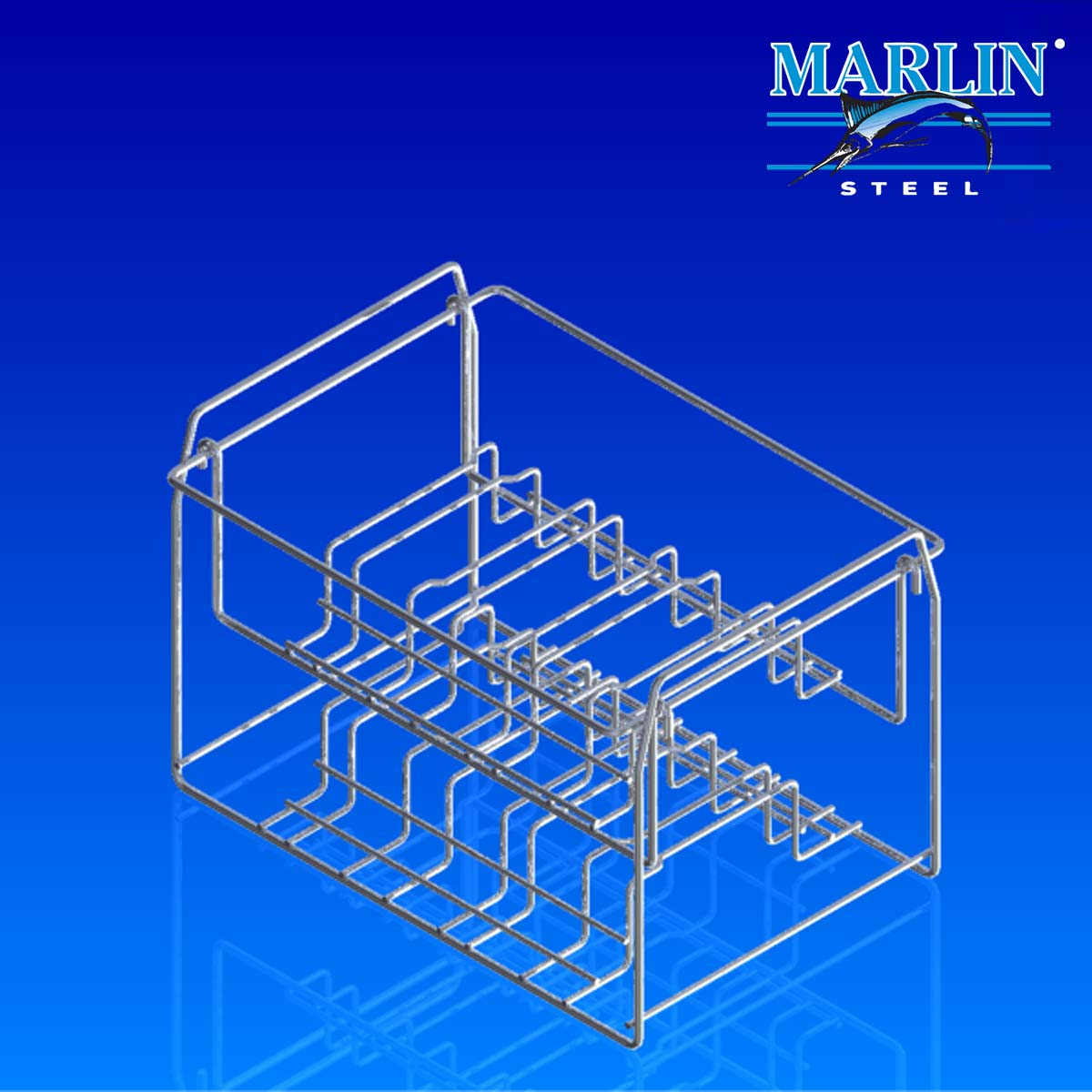 Wire Basket with Handles 147003