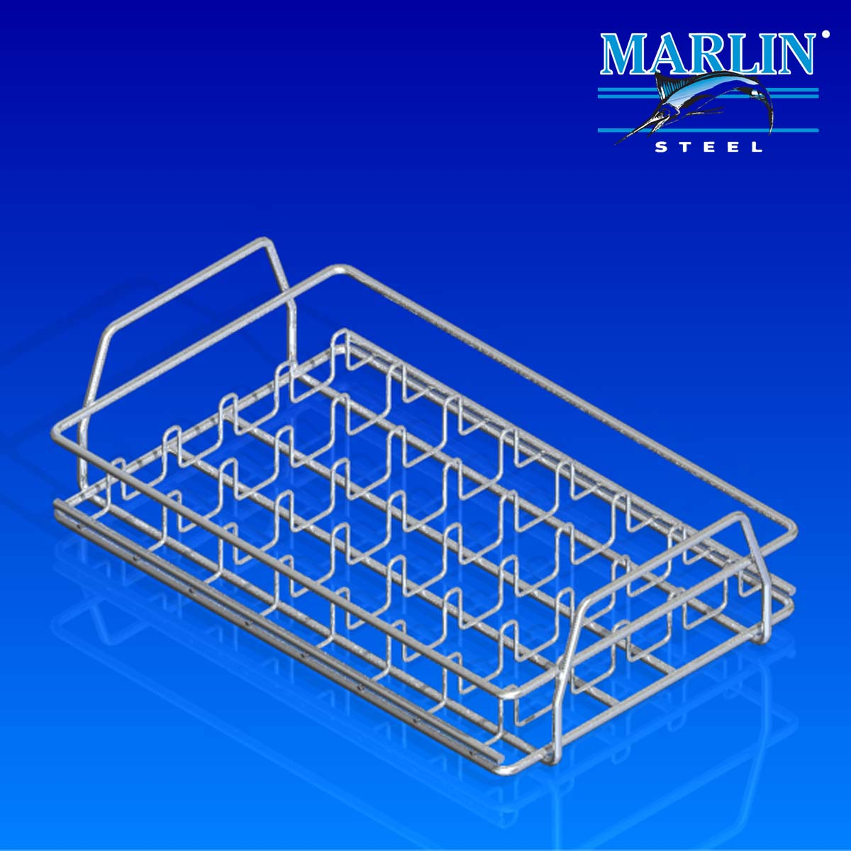 Wire Basket with Handles 163003