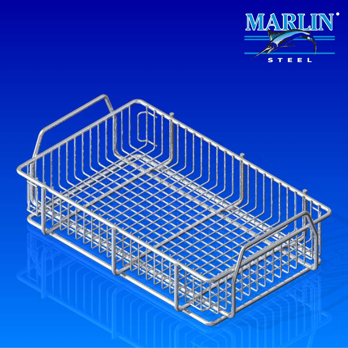 Wire Basket with Handles 163002