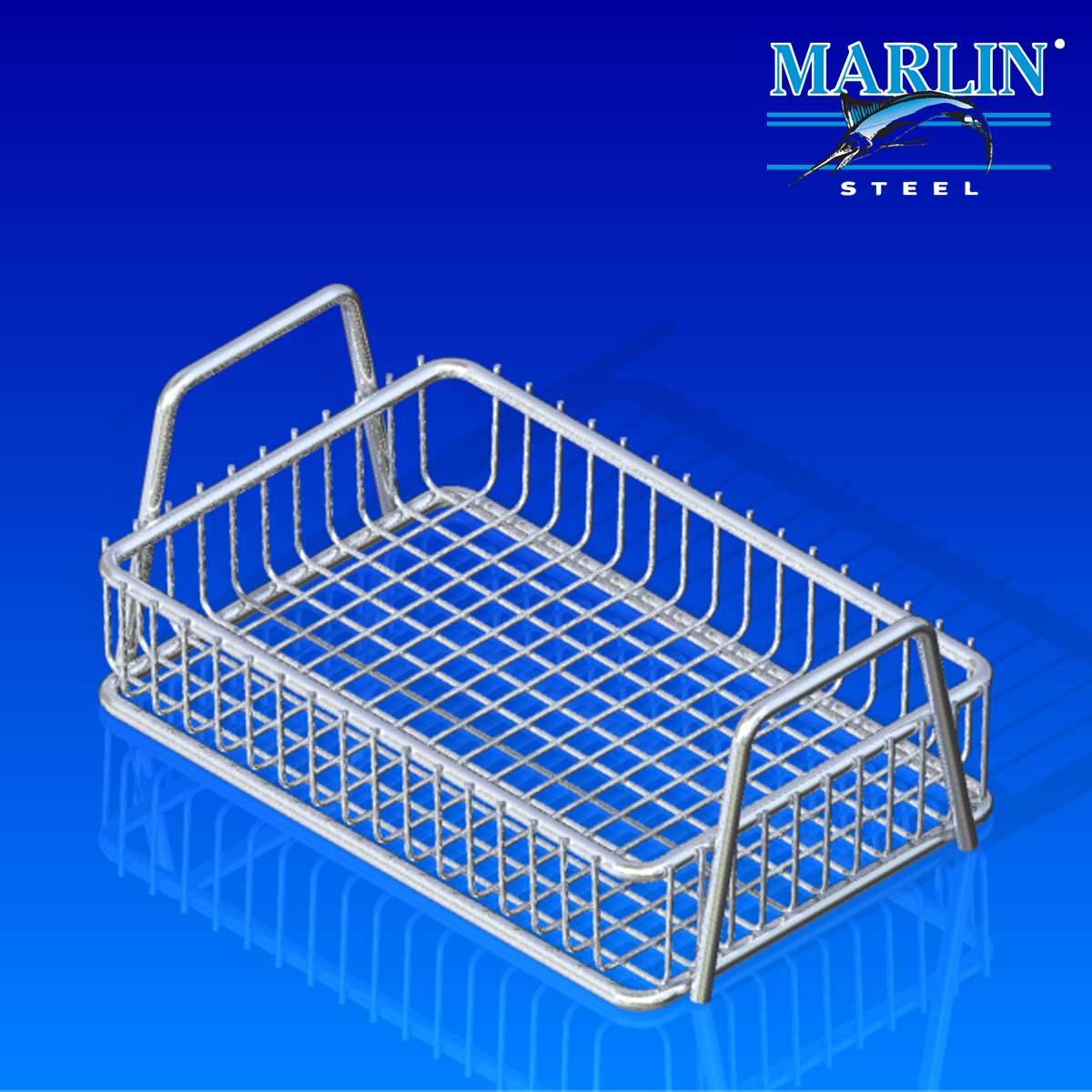 Marlin Steel Basket with Handles 186001