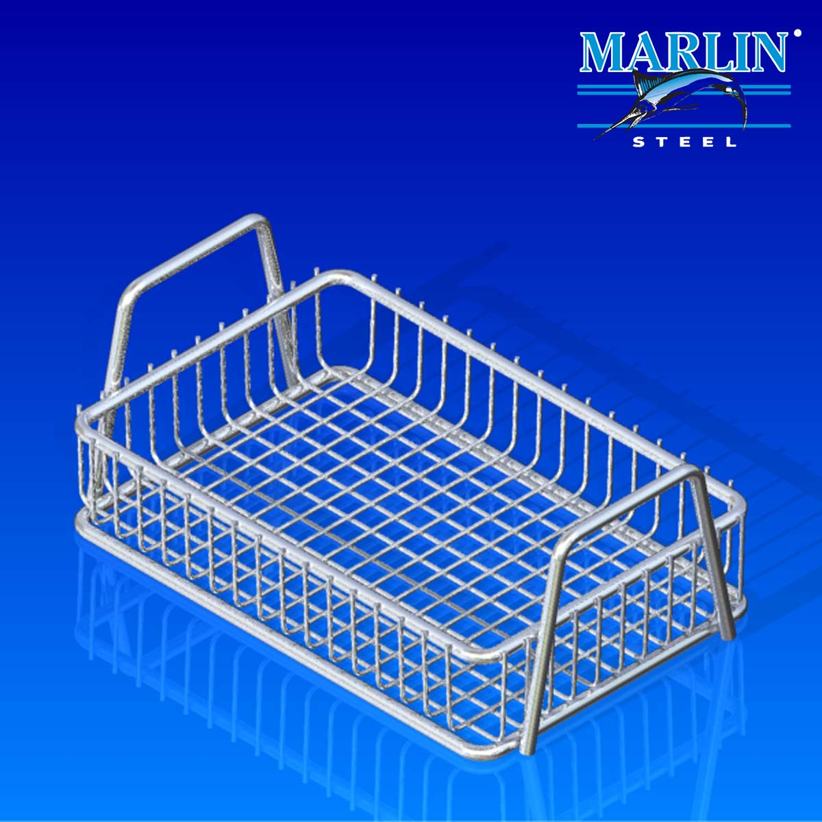 Wire Basket With Handles 186001