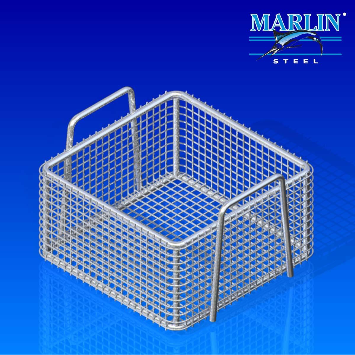 Marlin Steel Basket with Handles 404008