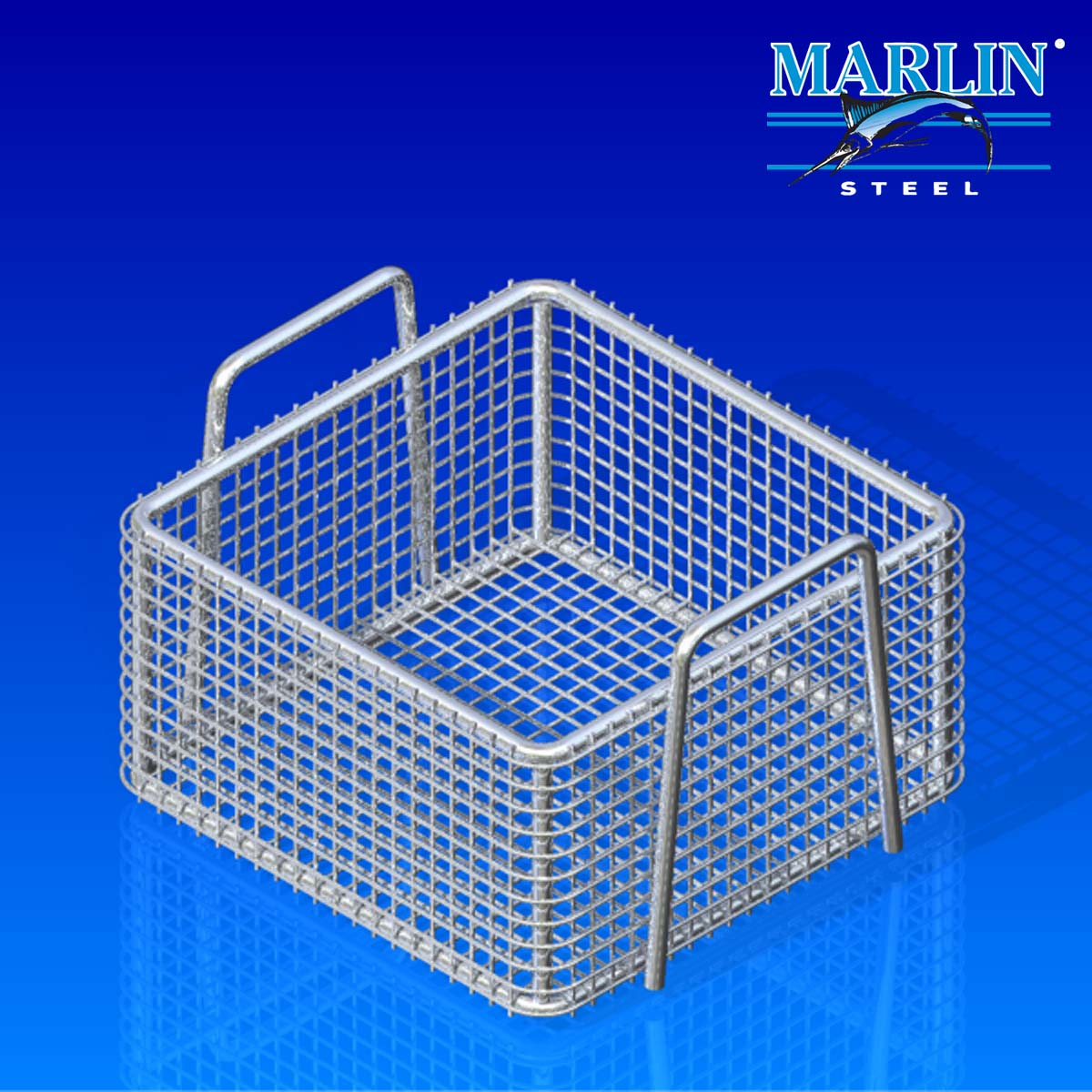 Wire Basket With Handles 404008