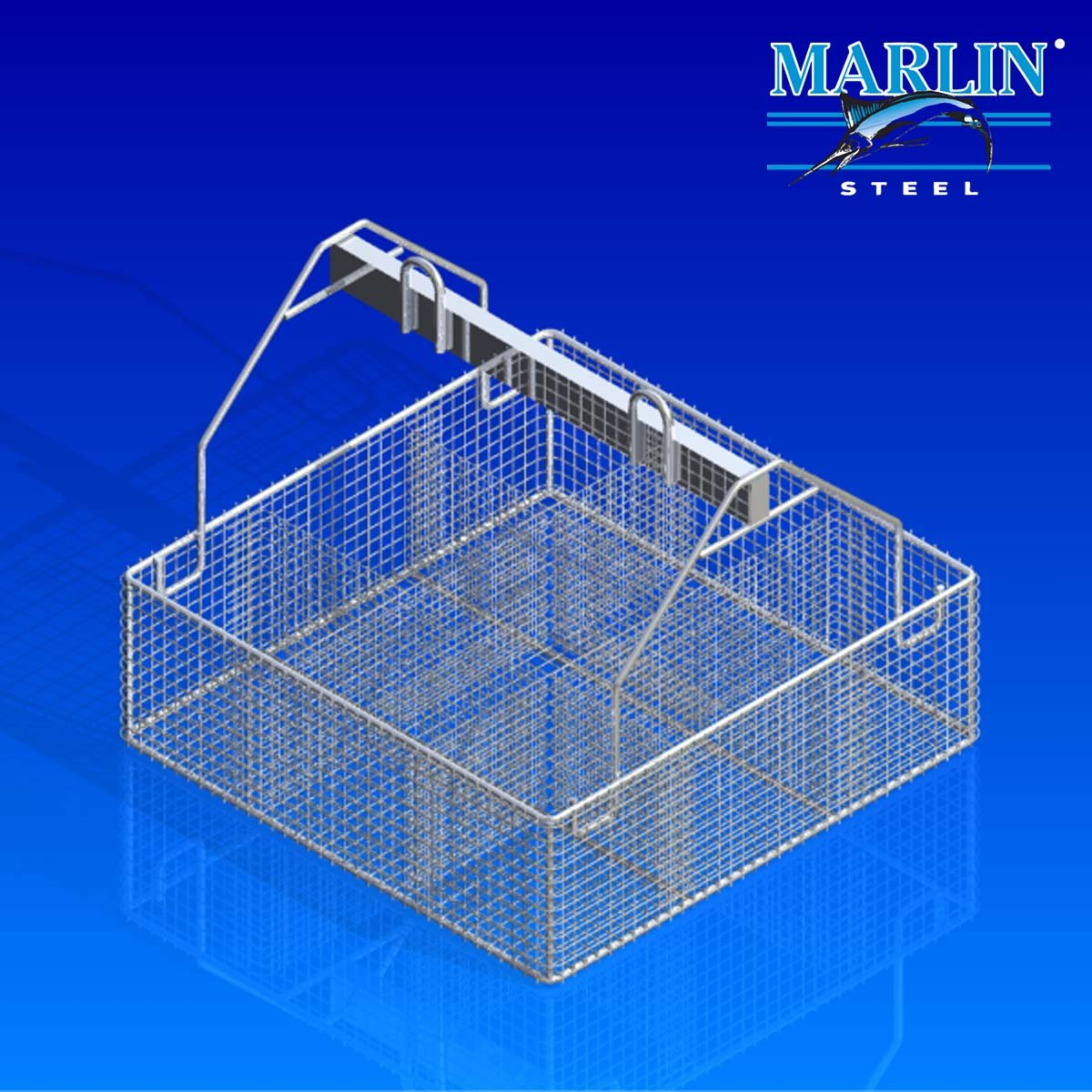 Wire Basket with Dividers 443002