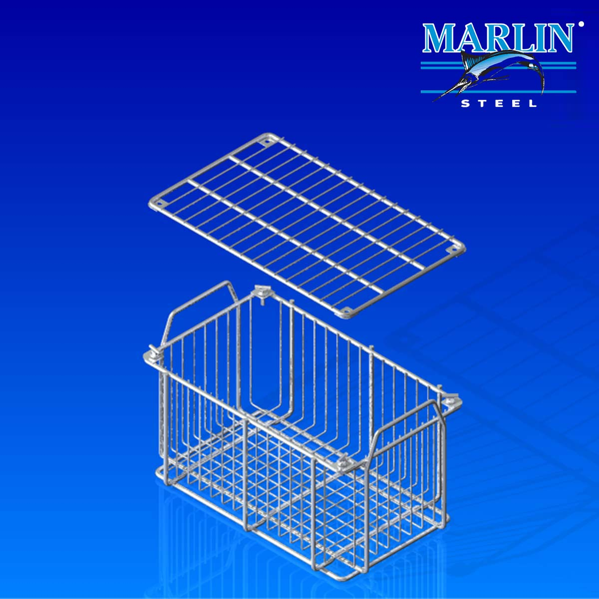 Wire Basket With Handles 479001