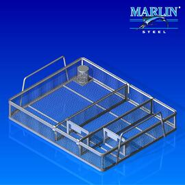 Wire Basket with Dividers 544001