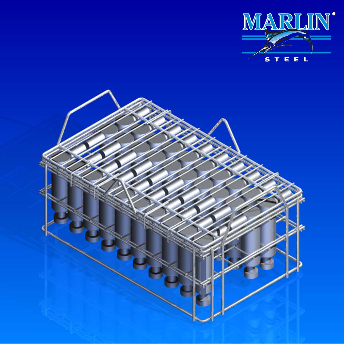 Marlin Steel Wire Basket 791001