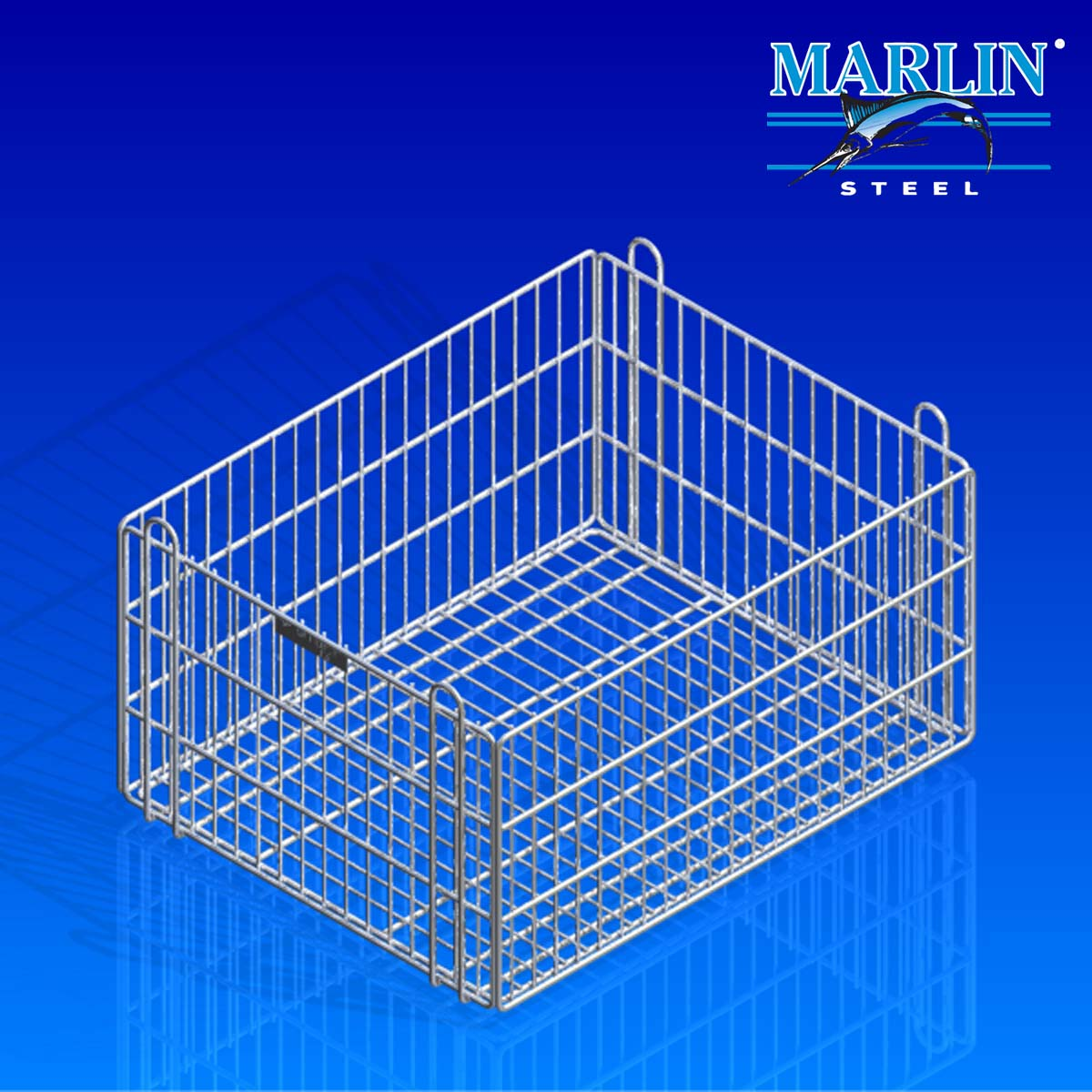 Marlin Steel Wire Basket 814002
