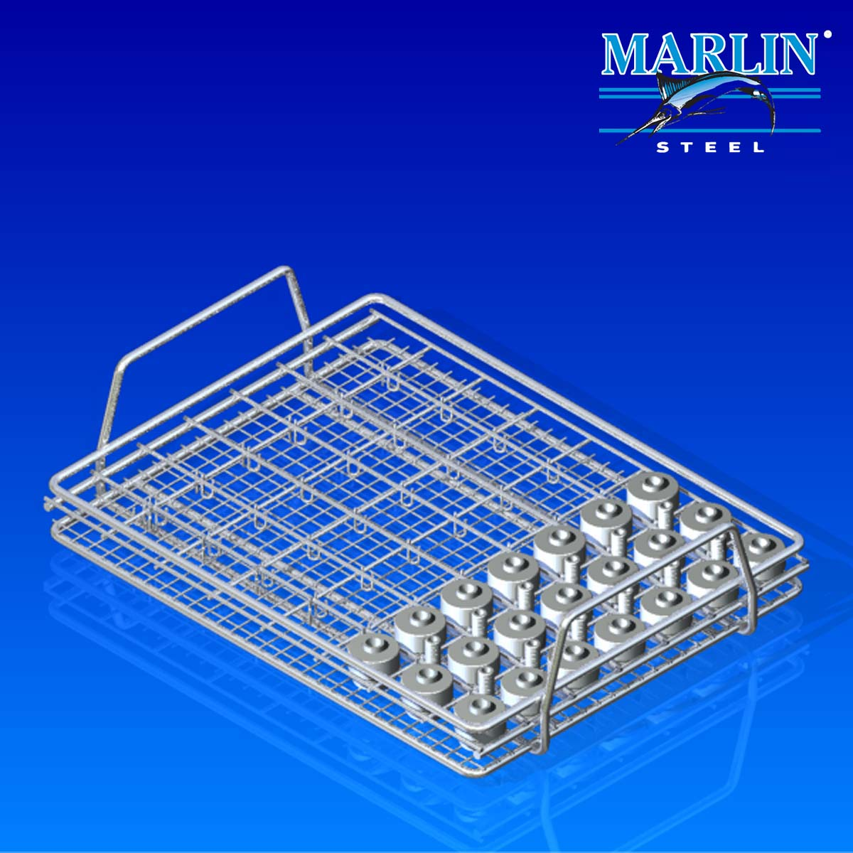 Marlin Steel Wire Material Handling Basket 620001