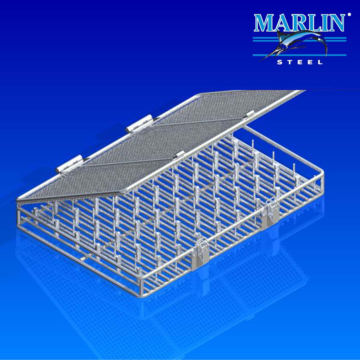 Wire Basket with Lid 620002