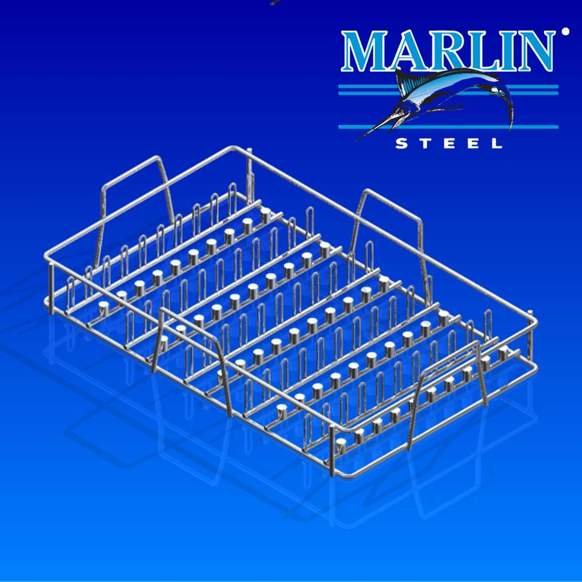 Wire Basket With Handles 719007