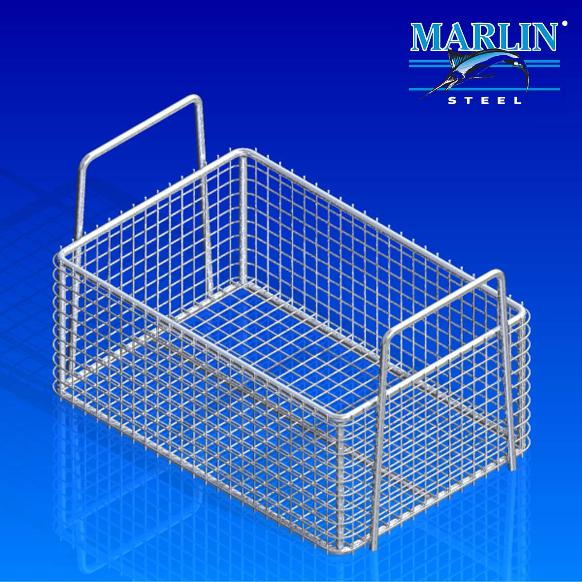 Marlin Steel Basket with Handles 725001