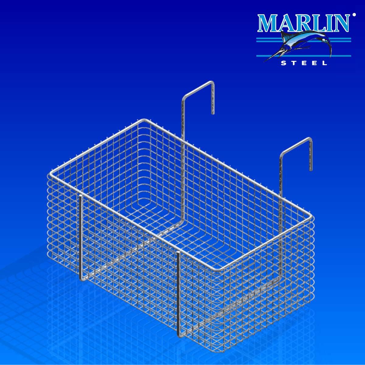 Marlin Steel Wire Basket 733001