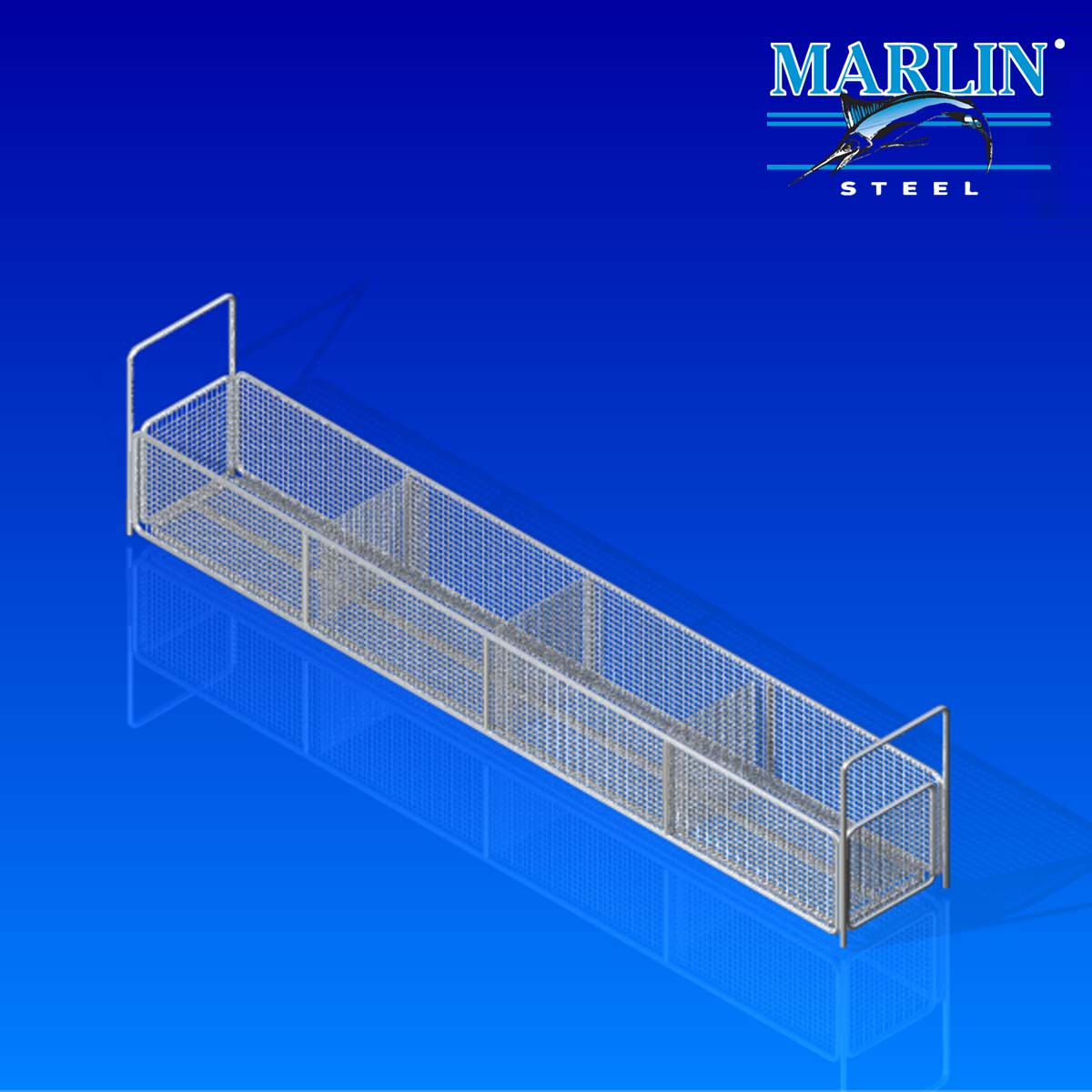 Marlin Steel Basket with Handles 745001