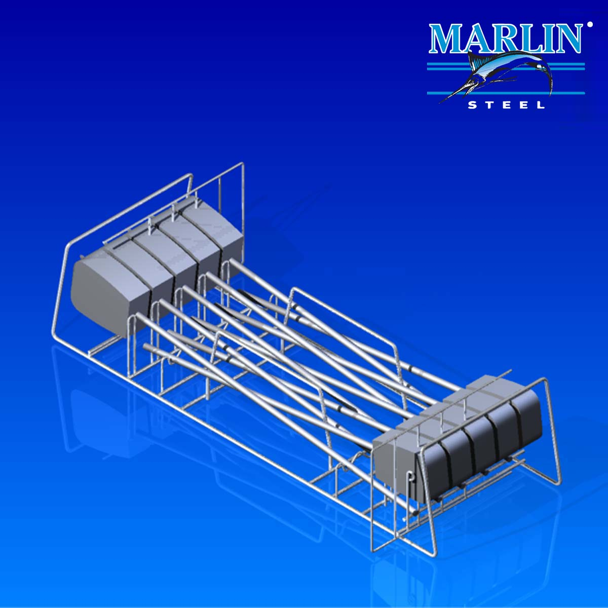 Marlin Steel Wire Basket 744001