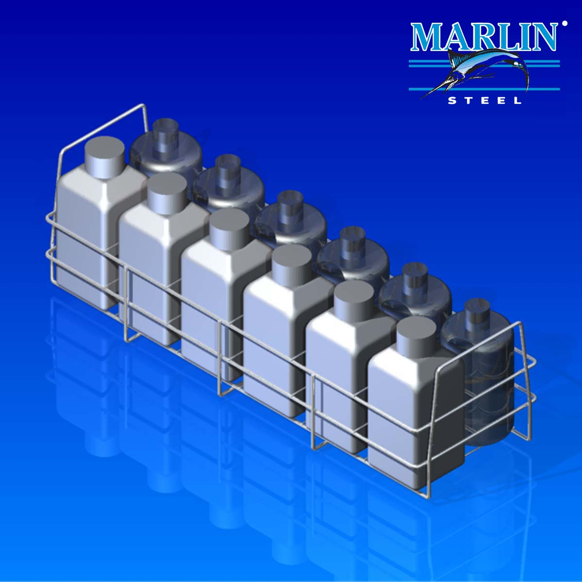 Marlin Steel Wire Basket 735001