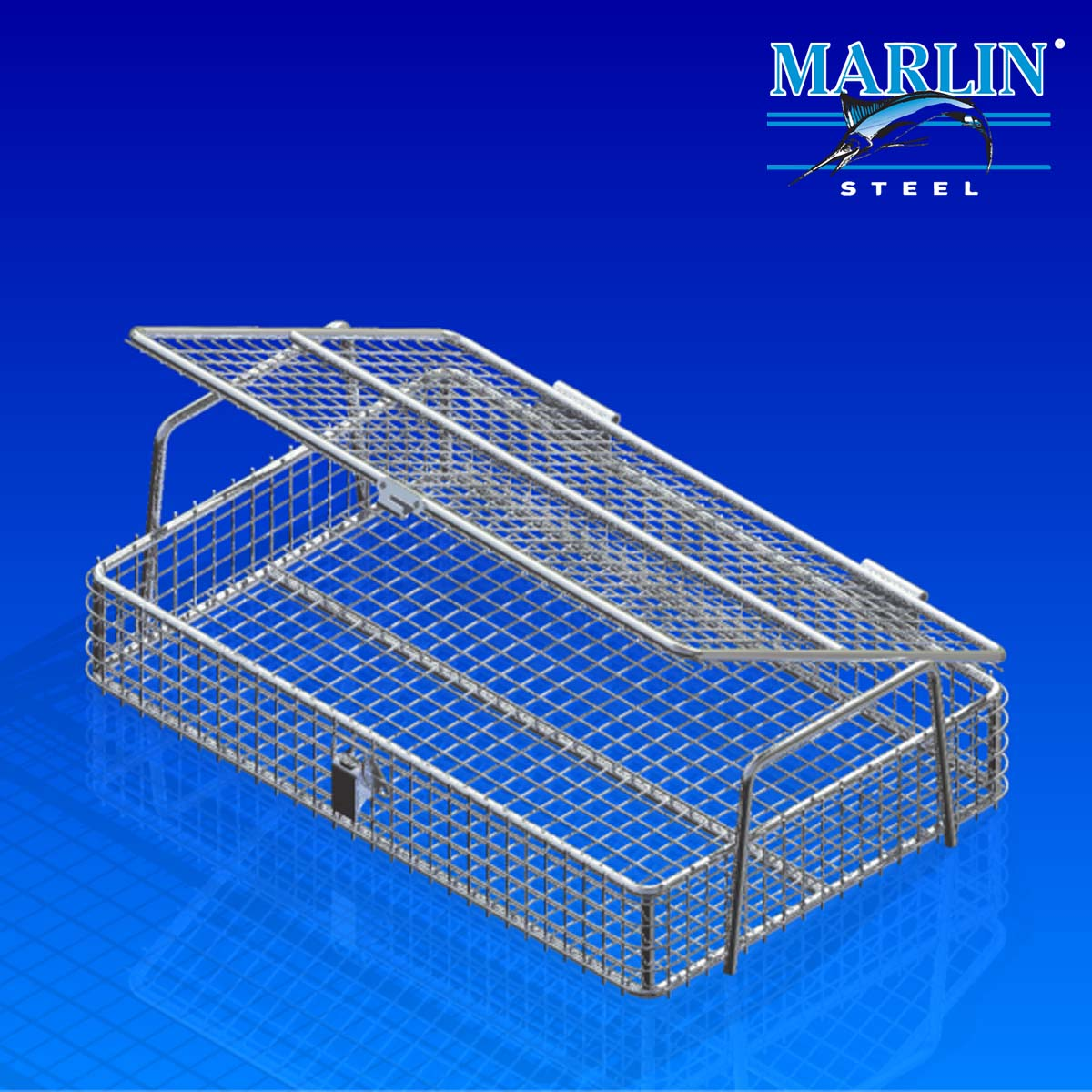 Marlin Steel Basket with Handles 825001