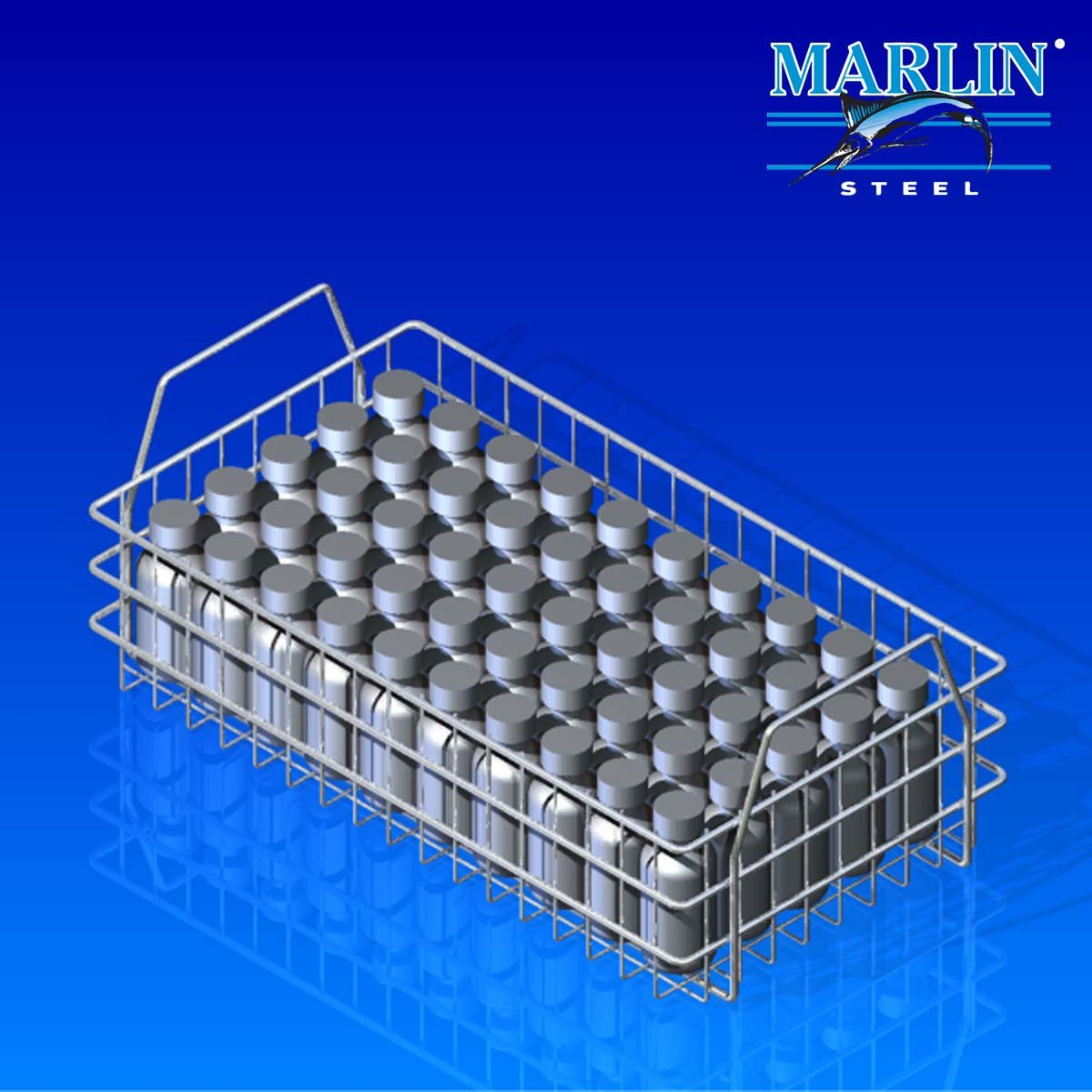 Wire Basket with Dividers 831001