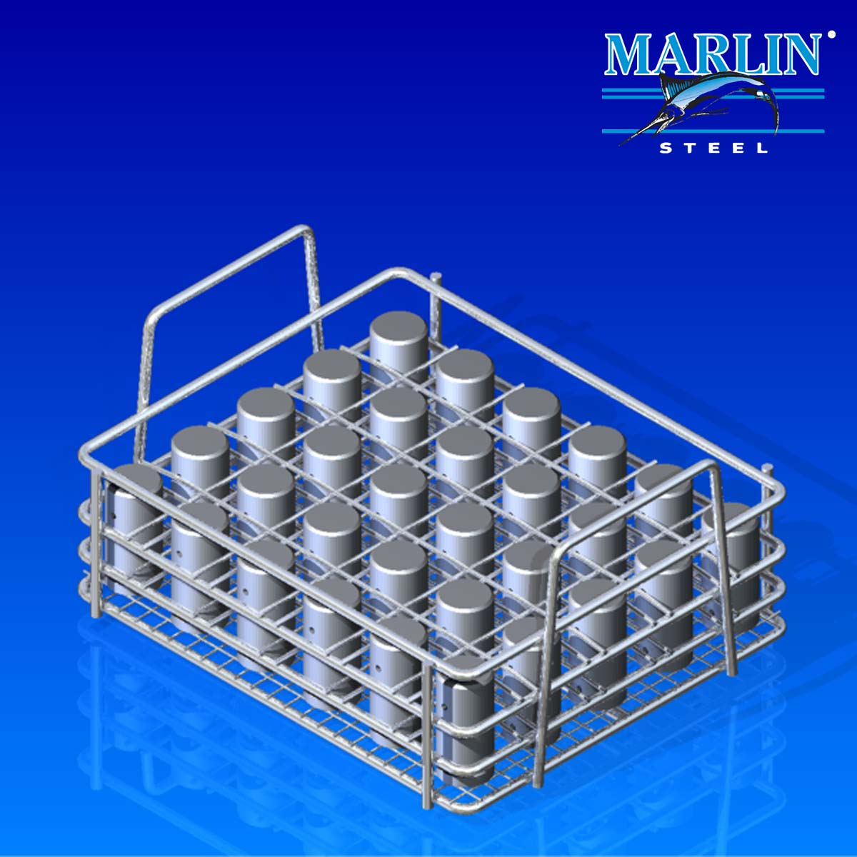 Marlin Steel Wire Material Handling Basket 837001
